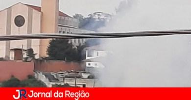 Vândalos colocam fogo em Ecoponto