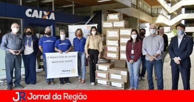 Rotary faz doação de materiais para a Saúde