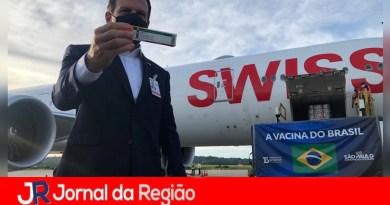 São Paulo recebe 1 milhão de doses de vacina
