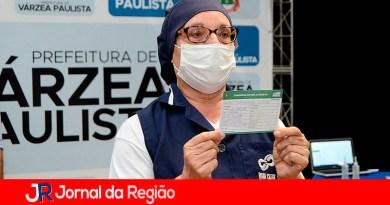 Várzea Paulista inicia vacinação contra a Covid-19