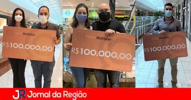 Três clientes do JundiaíShopping ganham R$ 100 mil em compras