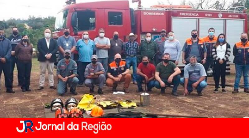 Simulado contra incêndio em Jundiaí. (Foto: Divulgação)