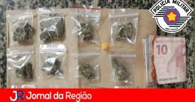 PM prende vendedor de drogas em Itupeva