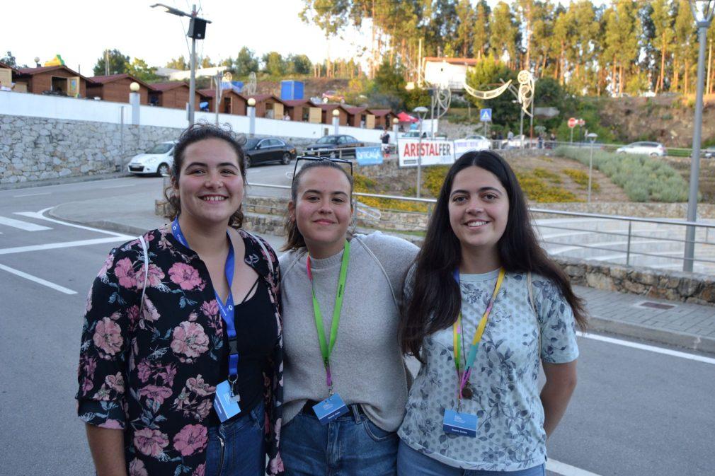 Estudantes de Biologia da Universidade de Aveiro