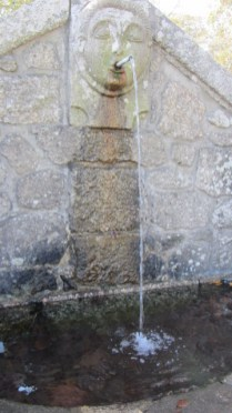 Saint Vincent Fountain - now dried