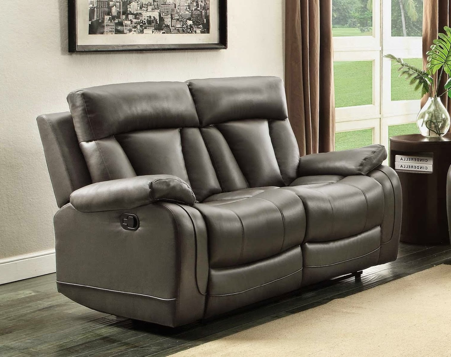 modena 2 seater reclining leather sofa what was a bed 15 photos recliner sofas newest inside best for the money vivaldi