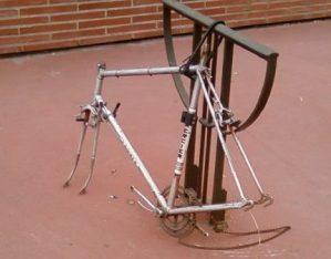 locked bike