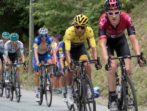 Thomas leads Bernal 2019 tour