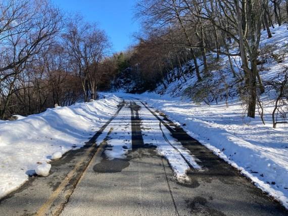 Snow on Perkins