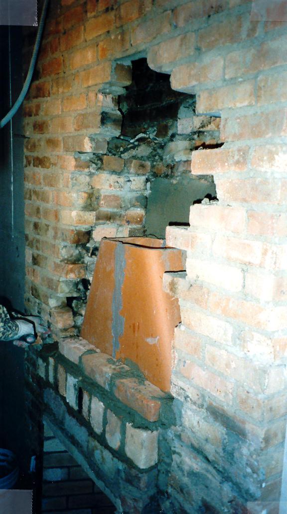 Schacter chimney work