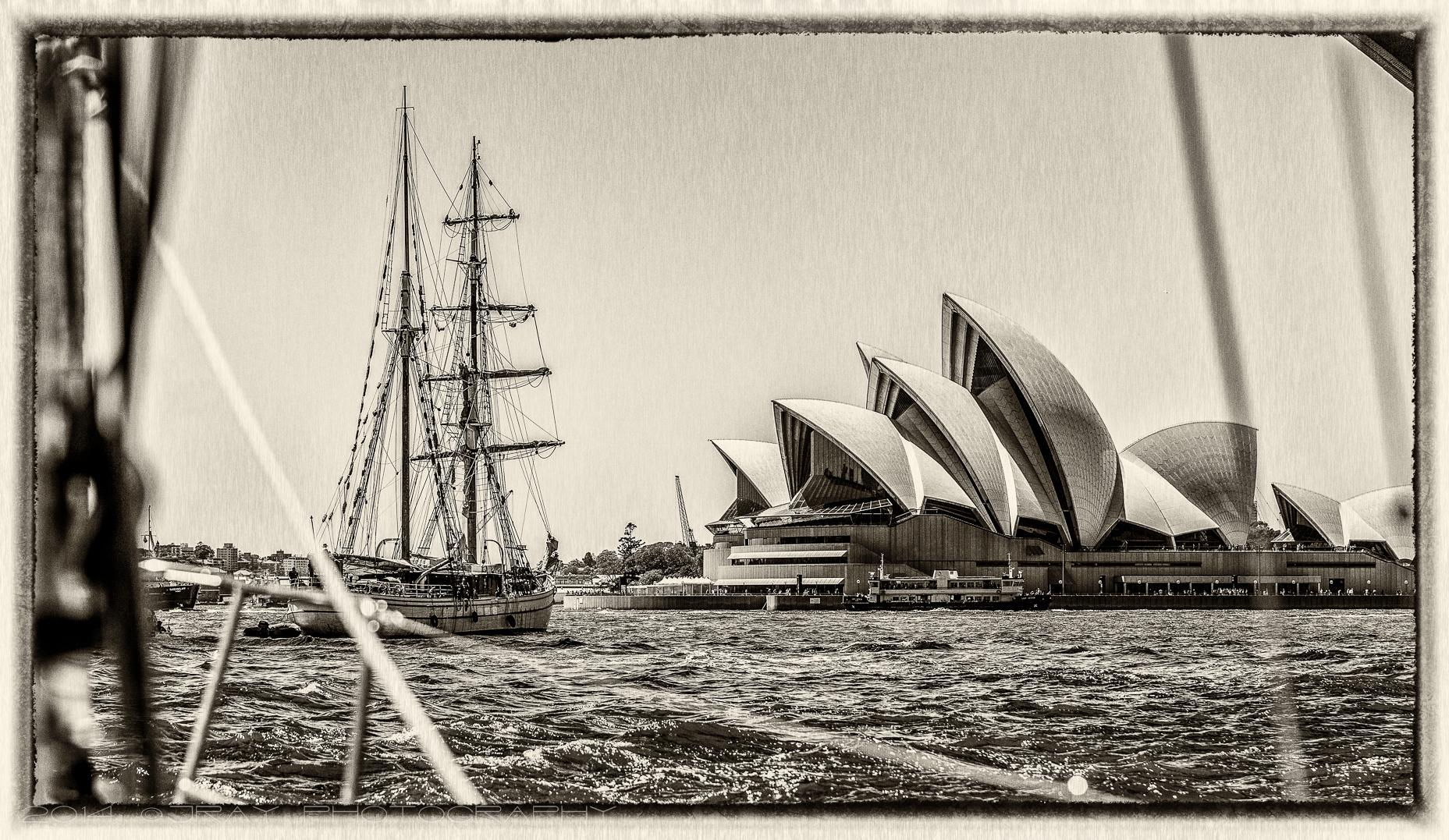 Tall Ship On Sydney Harbour JRay Photography