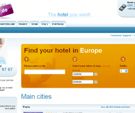 Hotel Booking Website built on Magento
