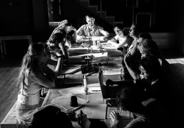 ZK Rehearsal Shots in Black and White - Ivor Houlker (1 of 4)