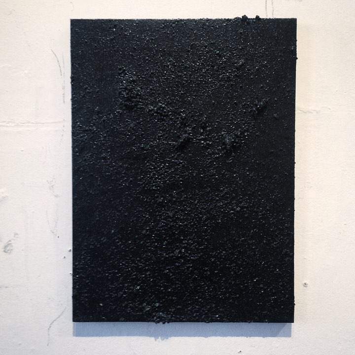 From the 'Bakerstown Seam' series. Tucker County coal on panel.