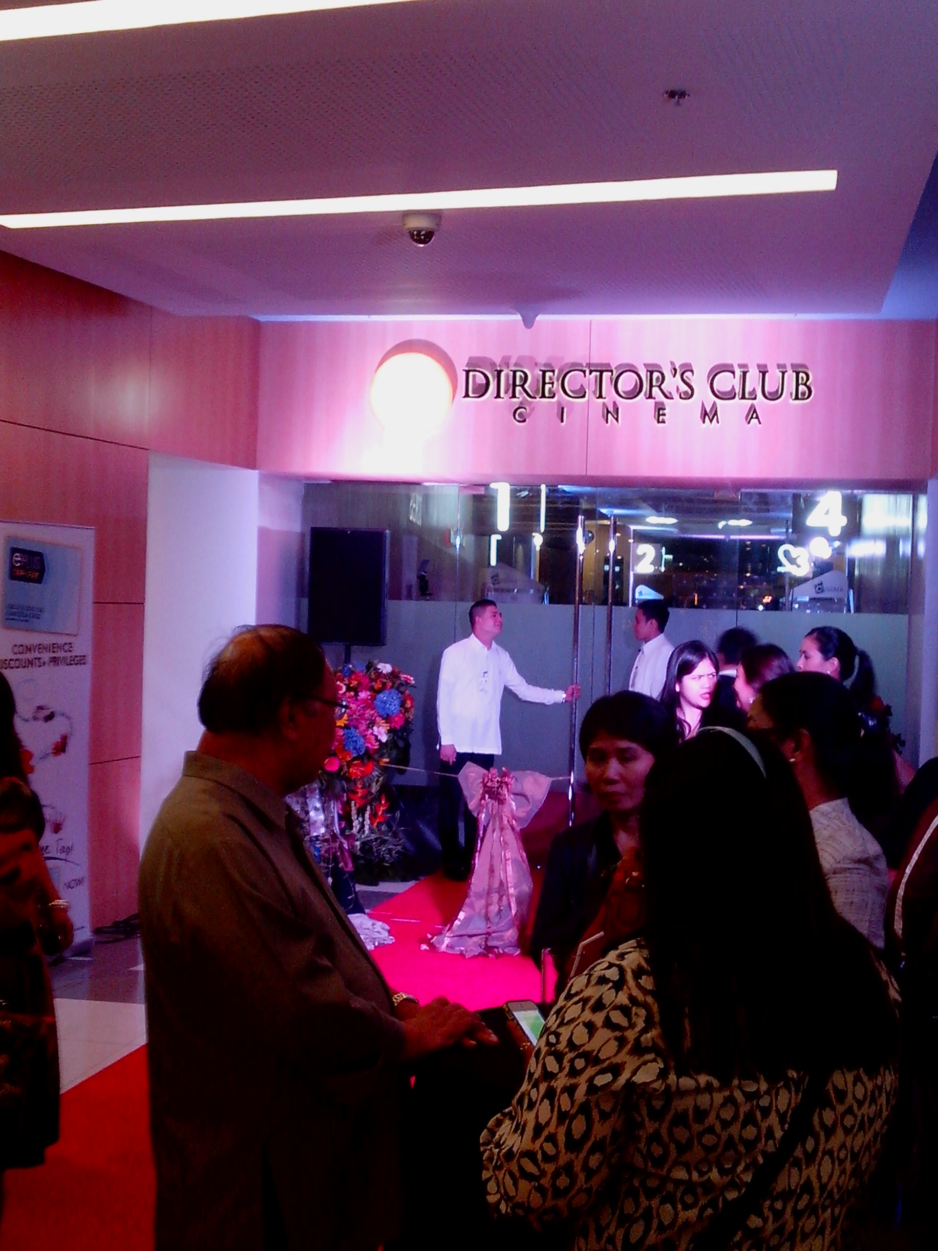 SM Cinemas 47th Branch in BF Offers Four Directors Club