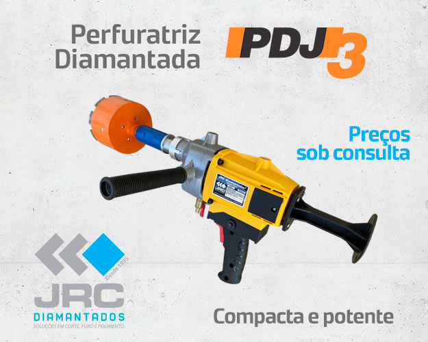 Perfuratriz Diamantada PDJ3