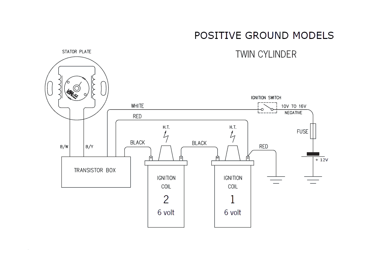 hight resolution of positive ground wiring diagram wiring diagram datasource 6 volt positive ground alternator wiring diagram or 12