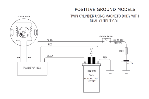 small resolution of 6 volt positive ground wiring diagram fuel tank wiring libraryso road testing will be required for