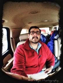 Heading to the Buffalo River, Arkansas.