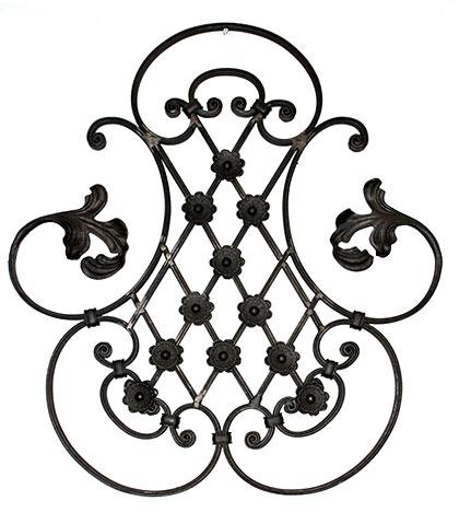 JRC Wrought Iron  Photos of Custom Iron Gates with Customized Design