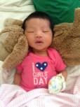 Her 1st onesie