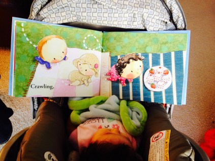 Reading Baby Parade by Rebecca O'Connell