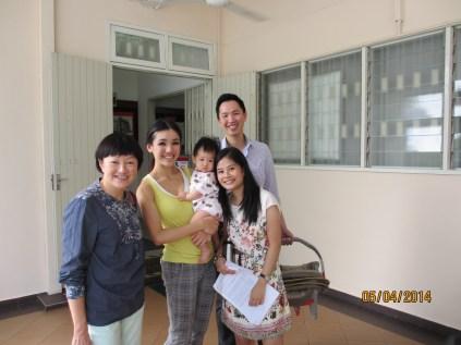 Group photo at GBC