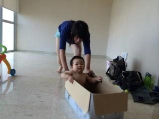 VA carting Baby E