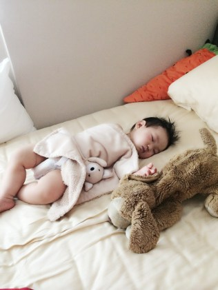 Baby E sleeping