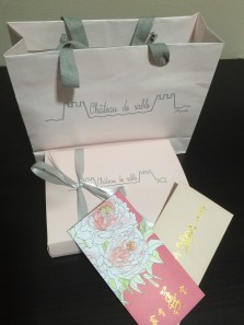 Pressies from 姑妈 and SY