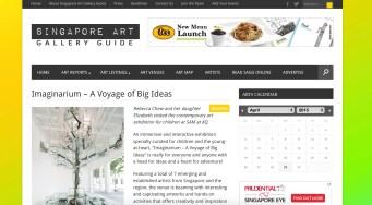 Imaginarium - A Voyage of Big Ideas review on SAGG website