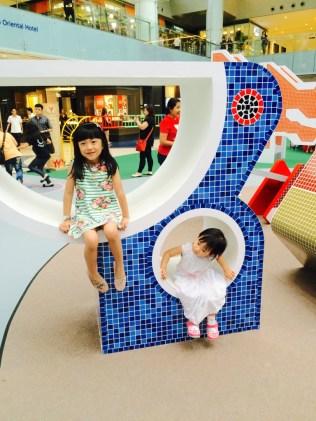Marina Square SG50 playground exhibition