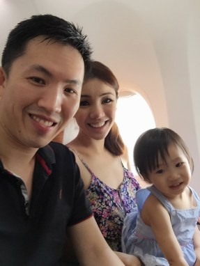 Wefie in airplane to Penang Aug 2015