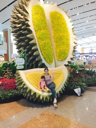 Durian poses