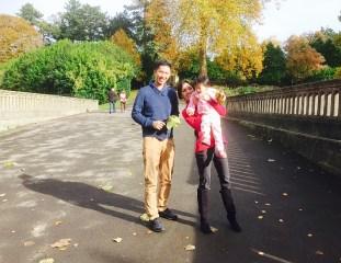 Sydney Gardens in Bath