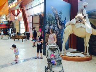 At the SEA Aquarium