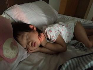 Little E sleeping sweetly