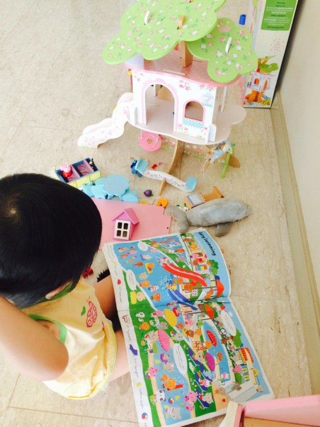 Incorporating reading and playing