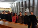 Paris cohort at UNESCO headquarters