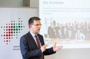 Prof. Dieter Bathen, Vorstandsvorsitzender JRF