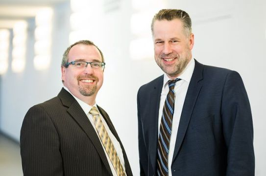 Geschäftsleitung: Dr. Michael Hornung und Prof. Max Lemme