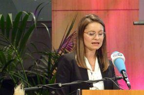 Ramona Fels, Geschäftsstellenleiterin, stellvertretende Vorstandsvorsitzende und kaufmännische Vorständin der JRF. (© JRF)