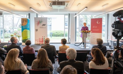 Staatssekretärin Annette Storsberg vom Ministerium für Kultur und Wissenschaft des Landes NRW. Photo: Benjamin Westhoff, ©DIE