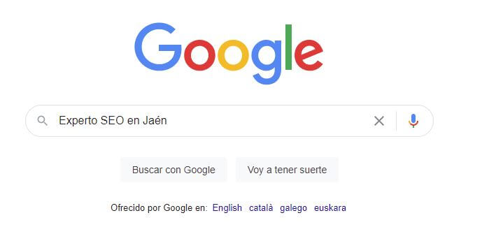 Experto SEO en Jaén