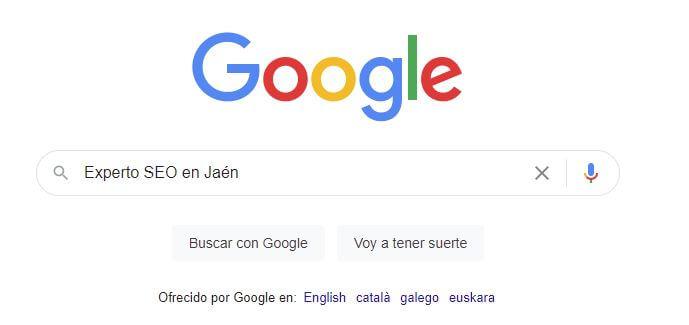 Consultor experto SEO en Jaén
