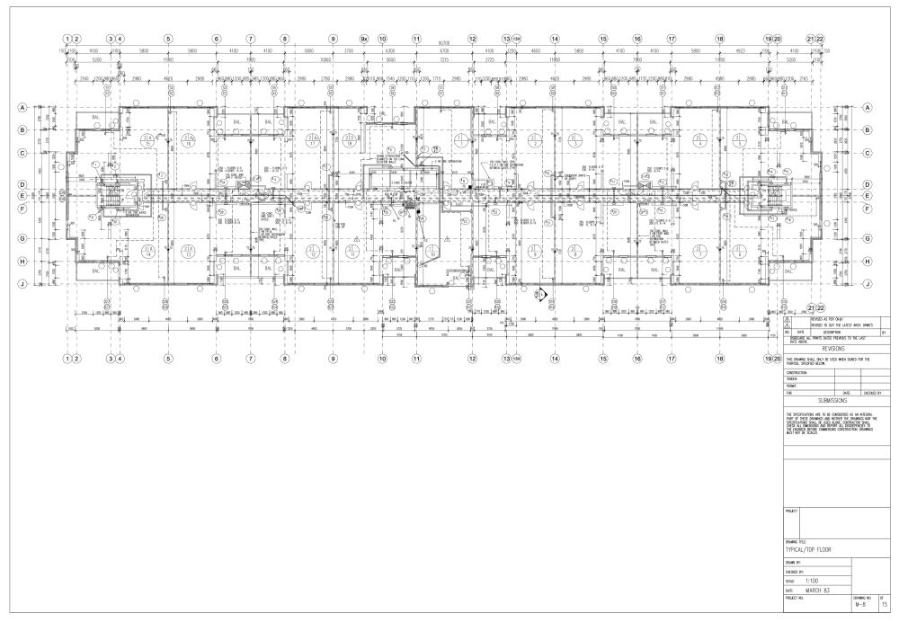 medium resolution of apartment building floor plan autocad
