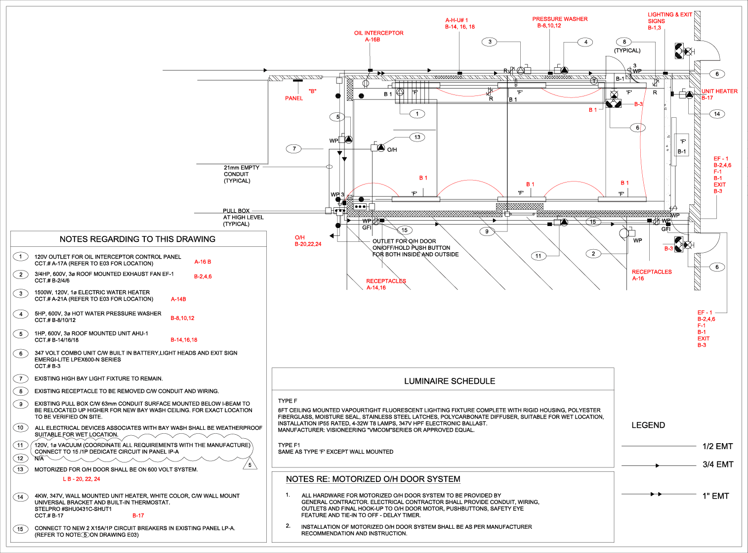 hight resolution of electrical lighting power layout autocad
