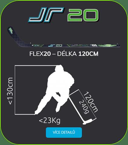 Děstká hokejka Jr Flex 20
