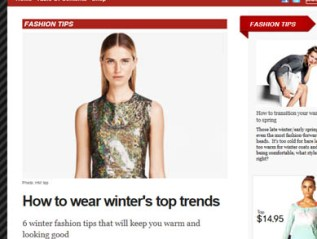 """How to Wear Winter's Top Trends,"" for H&M"