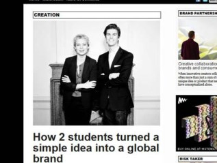 """How 2 students turned a simple idea into a global brand,"" Conversionplanet"